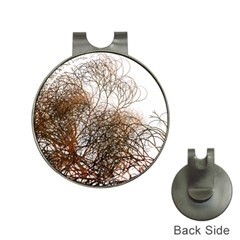 Digitally Painted Colourful Winter Branches Illustration Hat Clips With Golf Markers by Nexatart