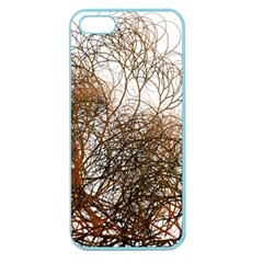 Digitally Painted Colourful Winter Branches Illustration Apple Seamless Iphone 5 Case (color) by Nexatart