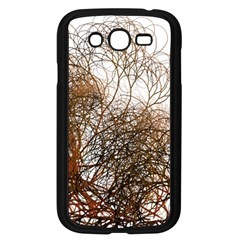 Digitally Painted Colourful Winter Branches Illustration Samsung Galaxy Grand Duos I9082 Case (black) by Nexatart