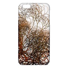 Digitally Painted Colourful Winter Branches Illustration Iphone 6 Plus/6s Plus Tpu Case by Nexatart