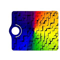 A Creative Colorful Background Kindle Fire Hdx 8 9  Flip 360 Case by Nexatart