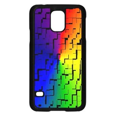 A Creative Colorful Background Samsung Galaxy S5 Case (Black) by Nexatart