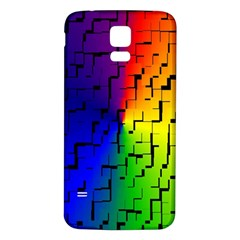 A Creative Colorful Background Samsung Galaxy S5 Back Case (white) by Nexatart