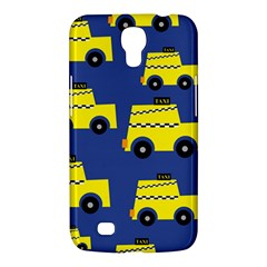 A Fun Cartoon Taxi Cab Tiling Pattern Samsung Galaxy Mega 6 3  I9200 Hardshell Case by Nexatart