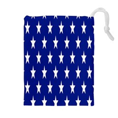 Starry Header Drawstring Pouches (extra Large) by Nexatart
