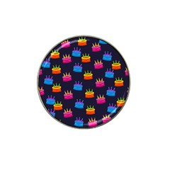 A Tilable Birthday Cake Party Background Hat Clip Ball Marker by Nexatart