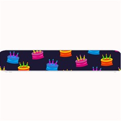 A Tilable Birthday Cake Party Background Small Bar Mats by Nexatart