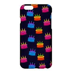 A Tilable Birthday Cake Party Background Apple Iphone 6 Plus/6s Plus Hardshell Case by Nexatart