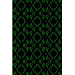 Green Black Pattern Abstract 5 5  X 8 5  Notebooks by Nexatart