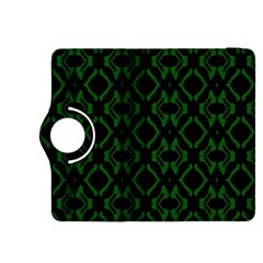 Green Black Pattern Abstract Kindle Fire Hdx 8 9  Flip 360 Case by Nexatart