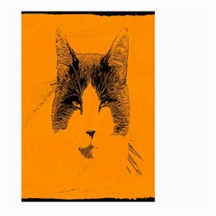 Cat Graphic Art Large Garden Flag (two Sides) by Nexatart