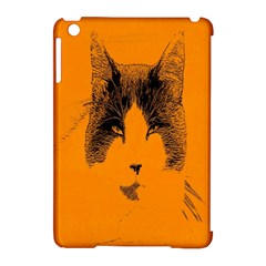 Cat Graphic Art Apple Ipad Mini Hardshell Case (compatible With Smart Cover) by Nexatart