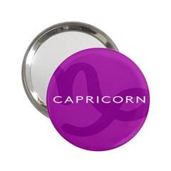 Zodiac Capricorn Purple 2 25  Handbag Mirrors by Mariart