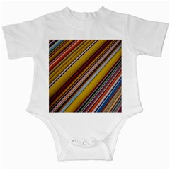 Colourful Lines Infant Creepers by Nexatart