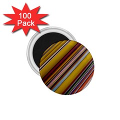 Colourful Lines 1 75  Magnets (100 Pack)  by Nexatart