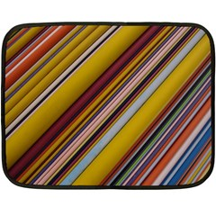 Colourful Lines Double Sided Fleece Blanket (Mini)