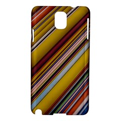 Colourful Lines Samsung Galaxy Note 3 N9005 Hardshell Case by Nexatart