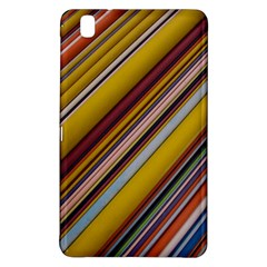 Colourful Lines Samsung Galaxy Tab Pro 8 4 Hardshell Case by Nexatart