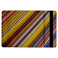 Colourful Lines Ipad Air Flip by Nexatart