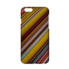 Colourful Lines Apple Iphone 6/6s Hardshell Case by Nexatart