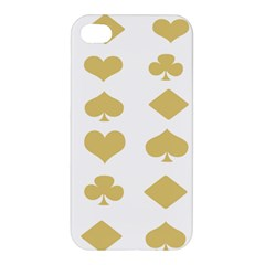 Card Symbols Apple Iphone 4/4s Hardshell Case by Mariart