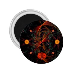 Fractal Wallpaper With Dancing Planets On Black Background 2 25  Magnets by Nexatart