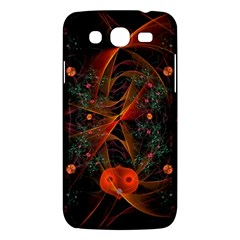 Fractal Wallpaper With Dancing Planets On Black Background Samsung Galaxy Mega 5 8 I9152 Hardshell Case  by Nexatart