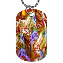 3 Carousel Ride Horses Dog Tag (Two Sides)