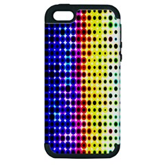 A Creative Colorful Background Apple Iphone 5 Hardshell Case (pc+silicone) by Nexatart