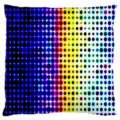 A Creative Colorful Background Large Flano Cushion Case (two Sides) by Nexatart