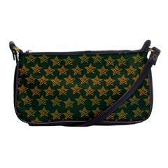Stars Pattern Background Shoulder Clutch Bags by Nexatart