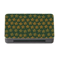 Stars Pattern Background Memory Card Reader With Cf by Nexatart