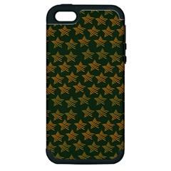 Stars Pattern Background Apple Iphone 5 Hardshell Case (pc+silicone) by Nexatart