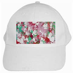 Confetti Hearts Digital Love Heart Background Pattern White Cap by Nexatart