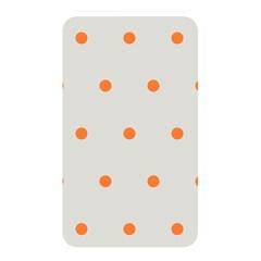 Diamond Polka Dot Grey Orange Circle Spot Memory Card Reader by Mariart