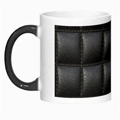 Black Cell Leather Retro Car Seat Textures Morph Mugs
