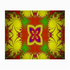 Digital Color Ornament Small Glasses Cloth by Nexatart