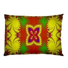 Digital Color Ornament Pillow Case by Nexatart