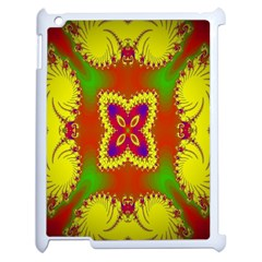 Digital Color Ornament Apple Ipad 2 Case (white) by Nexatart