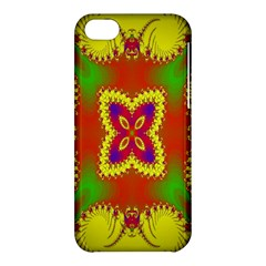 Digital Color Ornament Apple Iphone 5c Hardshell Case by Nexatart