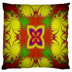 Digital Color Ornament Standard Flano Cushion Case (one Side) by Nexatart