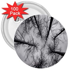 Trees Without Leaves 3  Buttons (100 Pack)  by Nexatart