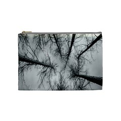 Trees Without Leaves Cosmetic Bag (medium)  by Nexatart
