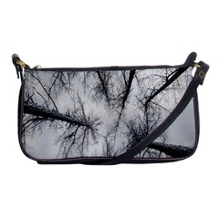 Trees Without Leaves Shoulder Clutch Bags by Nexatart