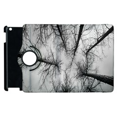 Trees Without Leaves Apple Ipad 3/4 Flip 360 Case by Nexatart