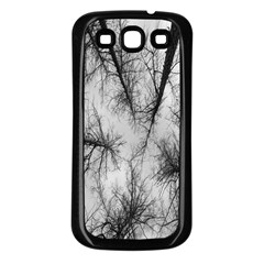 Trees Without Leaves Samsung Galaxy S3 Back Case (black) by Nexatart