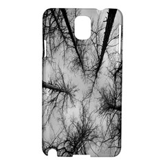 Trees Without Leaves Samsung Galaxy Note 3 N9005 Hardshell Case by Nexatart