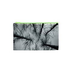 Trees Without Leaves Cosmetic Bag (xs) by Nexatart
