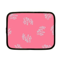 Branch Berries Seamless Red Grey Pink Netbook Case (small)  by Mariart