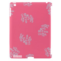 Branch Berries Seamless Red Grey Pink Apple Ipad 3/4 Hardshell Case (compatible With Smart Cover) by Mariart